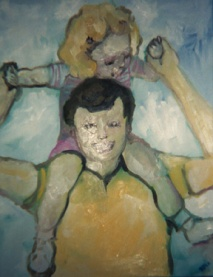 """""""Daddy"""" oil on linen, 2004"""